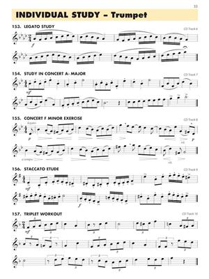 Essential Elements for Band - Book 3 - Trumpet