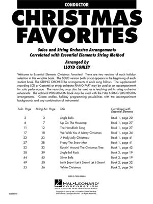 Essential Elements Christmas Favorites for Strings: Arr. (Lloyd Conley): Orchestra