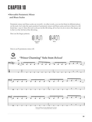 Metallica: Learn to play bass with Metallica: Guitar or Lute