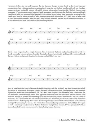A Guide to Chord-Melody: Jazz Guitar: Guitar