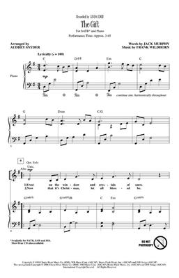 The Gift: Arr. (Audrey Snyder): SATB