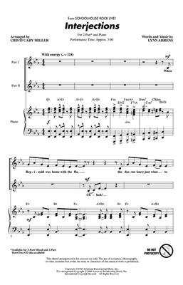 Interjections: Arr. (Cristi Cary Miller): 2-Part Choir