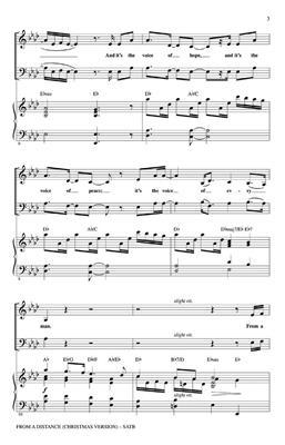 Bette Midler: From A Distance: Mixed Choir
