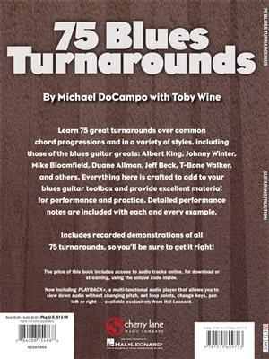 75 Blues Turnarounds: Guitar