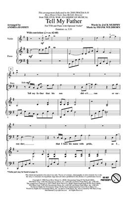 Tell My Father: Arr. (Andrea Ramsey): TTB