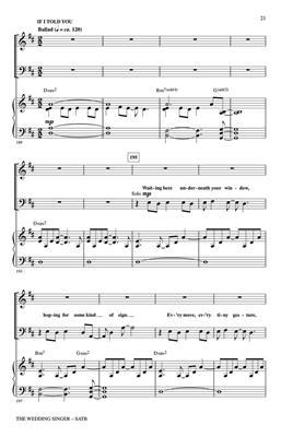 The Wedding Singer: Arr. (Roger Emerson): SATB