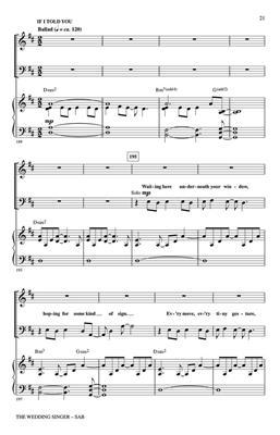 The Wedding Singer: Arr. (Roger Emerson): SAB
