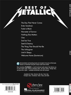 Metallica: Best of Metallica - Cello: Cello
