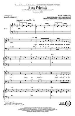 will.i.am: Best Friends: Arr. (Roger Emerson): 3-Part Choir