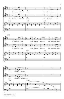 will.i.am: Best Friends: Arr. (Roger Emerson): 2-Part Choir