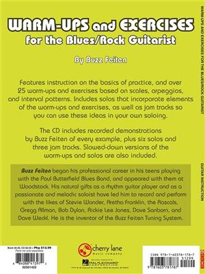 Warm-Up exercises for the Blues/Rock Guitarist: Guitar