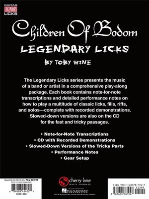 Children Of Bodom - Legendary Licks