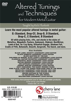 Alt. Tunings & Techniques for Modern Metal Guitar