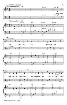 Jeanine Tesori: Shrek: The Musical: Arr. (Mark Brymer): SATB