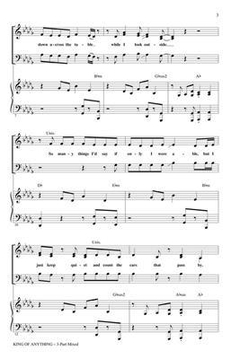 Sara Bareilles: King of Anything: Mixed Choir