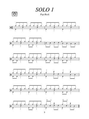 Tom Hapke: 66 Drum Solos for the Modern Drummer: Drums and Percussion