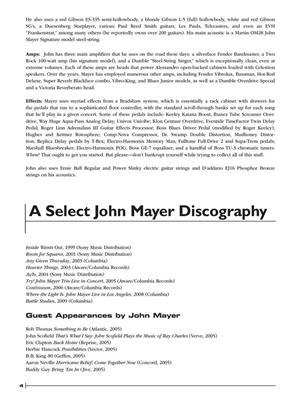 John Mayer Legendary Licks
