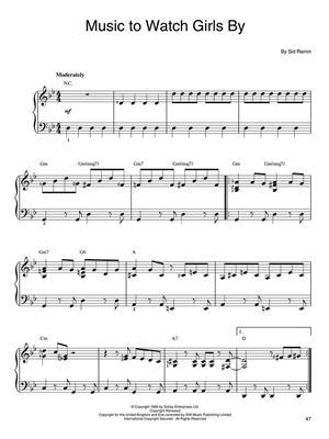 Instrumental Hits for Easy Piano: Easy Piano