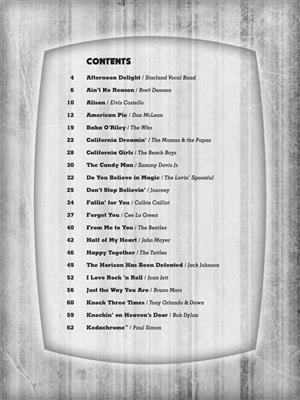 Ukulele Sing-Along Songs: Voice & Ukulele