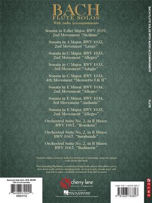Johann Sebastian Bach: Bach Flute Solos: Flute