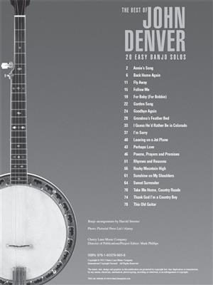 John Denver: The Best of John Denver: Banjo