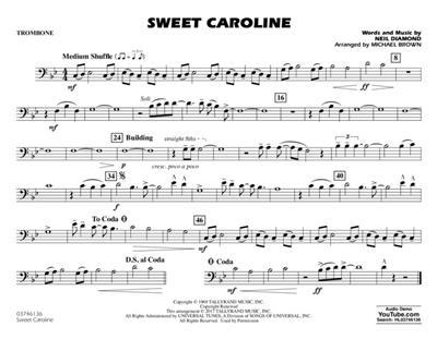 Neil Diamond: Sweet Caroline: Arr. (Michael Brown): Marching Band