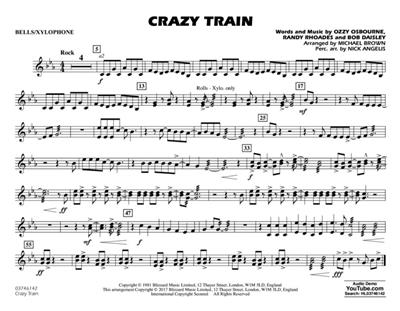 Ozzy Osbourne: Crazy Train: Arr. (Michael Brown): Marching Band