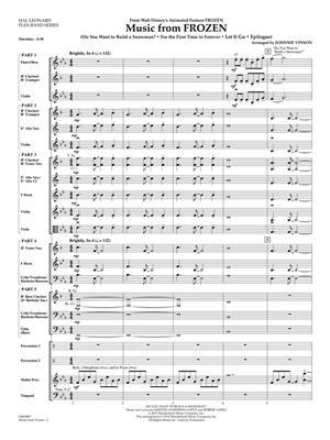 Kristen Anderson-Lopez: Music from Frozen: Arr. (Johnnie Vinson): Concert Band