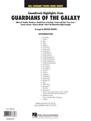 Soundtrack Highlights from Guardians of the Galaxy:Michael Brown