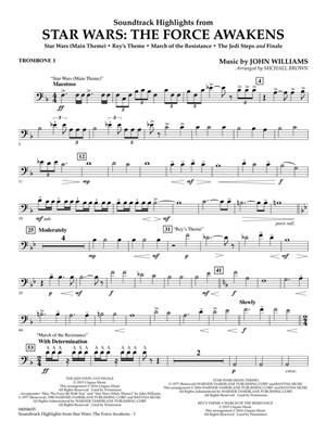 John Williams: Star Wars: The Force Awakens: Concert Band (+European Parts)