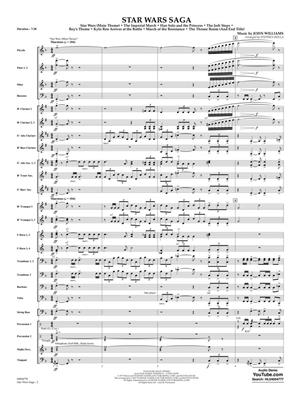 John Williams: Star Wars Saga: Concert Band (+European Parts)