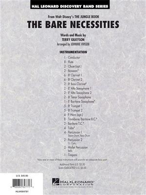 Terry Gilkyson:The Bare Necessities:Johnnie Vinson
