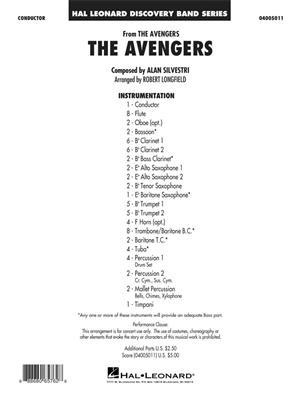 Alan Silvestri: The Avengers: Concert Band (+European Parts)