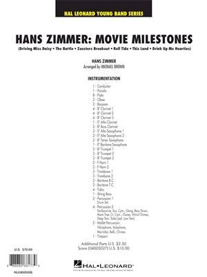 Michael Brown: Hans Zimmer: Movie Milestones