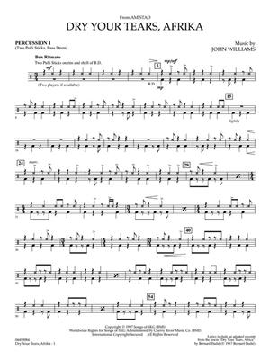 John Williams: Dry Your Tears, Afrika (from Amistad): Orchestra and Vocal