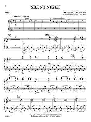 Holidays for Piano and Strings - Piano: Arr. (Leonard Slatkin): Piano Accompaniment
