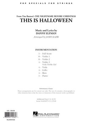Danny Elfman: This Is Halloween: String Ensemble