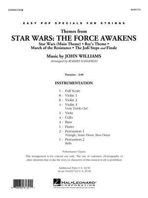 John Williams: Themes from Star Wars: The Force Awakens: Arr. (Robert Longfield): String Orchestra