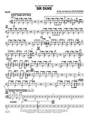 Stevie Wonder: Sir Duke: Jazz Ensemble