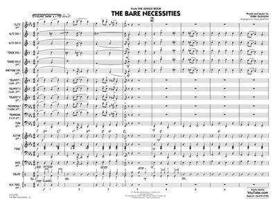 Terry Gilkyson: The Bare Necessities [from The Jungle Book]: Arr. (Paul Murtha): Jazz Ensemble