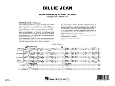 Michael Jackson: Billie Jean: Jazz Ensemble