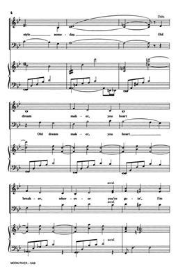 Henry Mancini: Moon River: Mixed Choir
