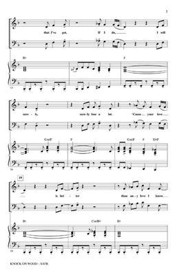 Otis Redding: Knock On Wood (SATB)Otis Redding: Mixed Choir