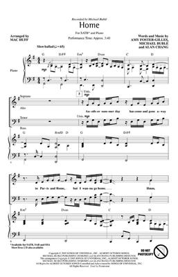 Michael Bublé: Home: Mixed Choir