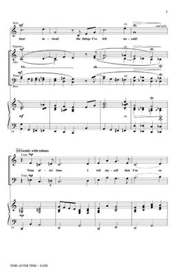 Jule Styne: Time After Time (SATB): Mixed Choir