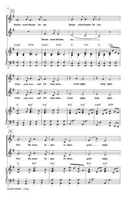 The Beatles: Good Night: Arr. (Audrey Snyder): 2-Part Choir