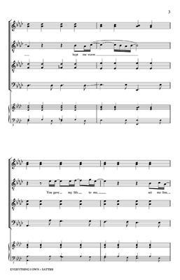 David Gates: Everything I Own: Arr. (Philip Lawson): Mixed Choir a Cappella
