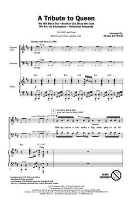 Queen: A Tribute to Queen (Medley): Mixed Choir
