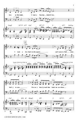 Anita Leonard: A Sunday Kind of Love: Mixed Choir