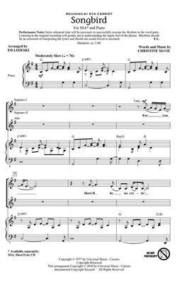 Hal Leonard: Songbird